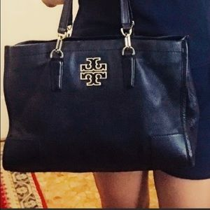 Tory Burch Britton Black large tote bag